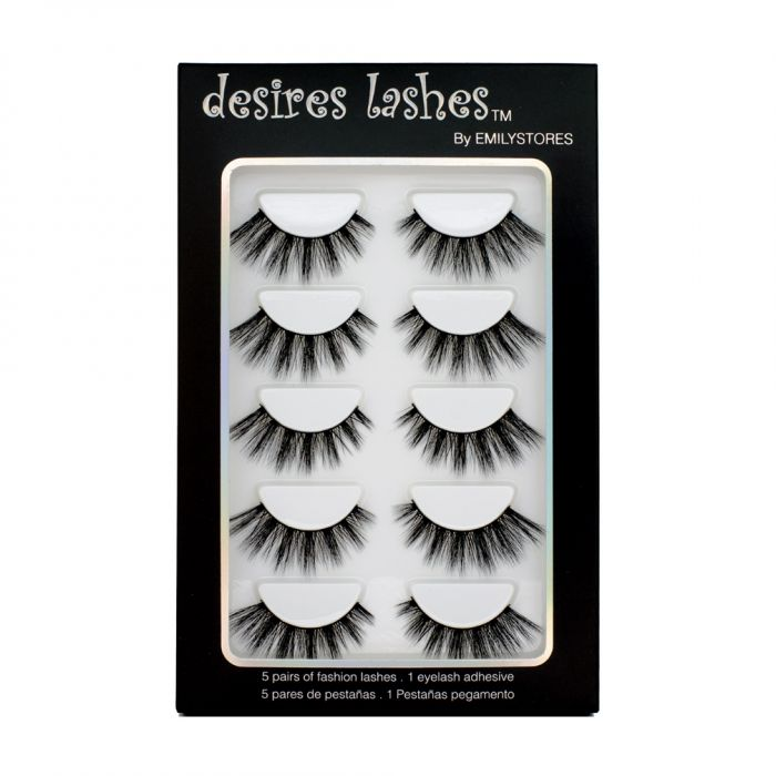 8071e7da4ce Natural Lashes 3D Layered Effect Fake-Mink Eyelashes Multipack ...