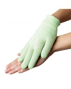 Moisturizing Gel Gloves - (For Cracked Hands, Dry Skins, Rough Calluses, Dry Fingers) - Green Colors 1 Pairs
