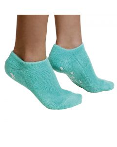 Moisturizing Gel Socks - (For cracked heels, dry heels, rough calluses, dry skin) - Green Colors 1 Pairs
