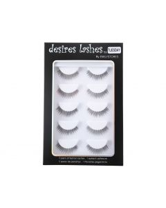 Natural Classic Eyelashes Multipack 5Pairs Per Kits, 02 Tuesday