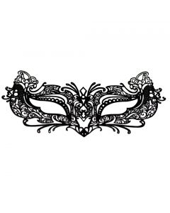 EMILYSTORES Tattoo Lace Costume Halloween Venetian Party Masquerade Mask 1PC