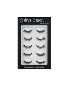 Multipack Demi Wispies Fake Eyelashes 5Pairs Per Kits, 01 Monday