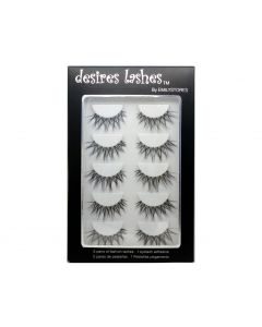 Natural Strip Eyelashes Multipack 5Pairs Per Kits, 04 Thursday