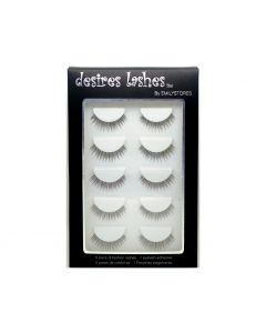 Natural Strip Eyelashes Multipack 5Pairs Per Kits, 02 Tuesday